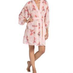 chiffon kimono robe